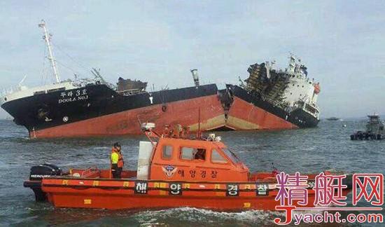 韩国4200吨级油轮发生爆炸 致多人死亡