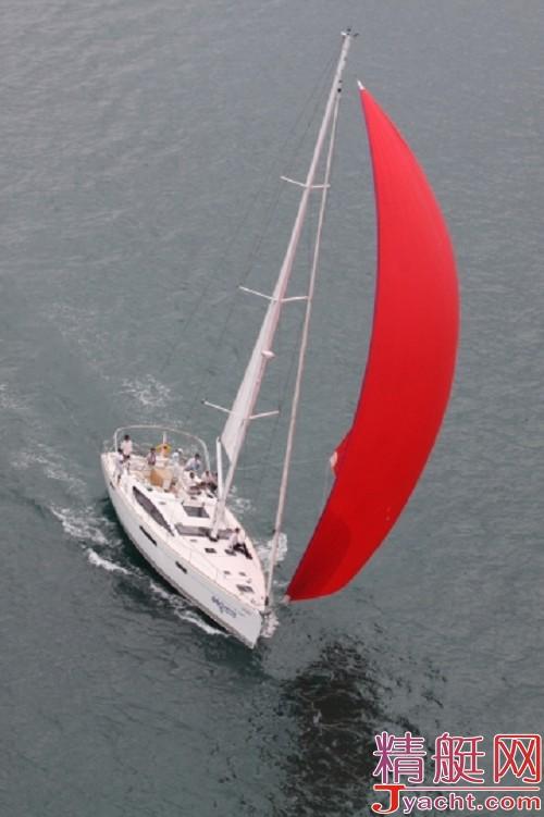 11年第二届环岛大帆船比赛总分第二名