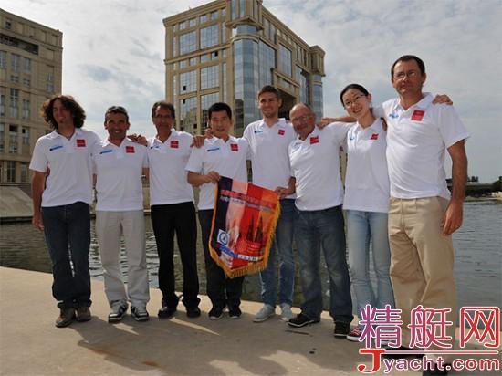 于莹:中国首位环法帆船赛女选手