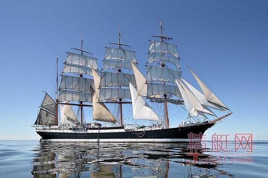 """世界伟大总统_世界上最大的老帆船—— 俄罗斯传奇三桅帆船""""谢多夫""""(Sedov ..."""