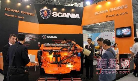 斯堪尼亚(SCANIA)全新13升船用发动机