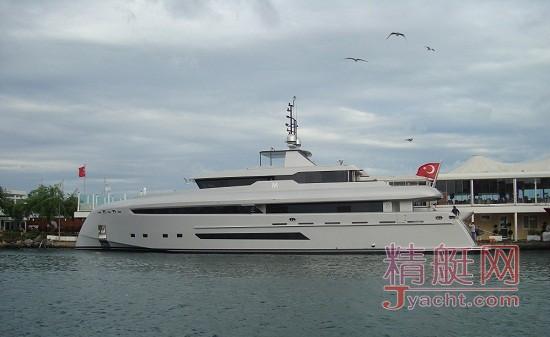 土耳其知名船厂Bilgin超级游艇M下水