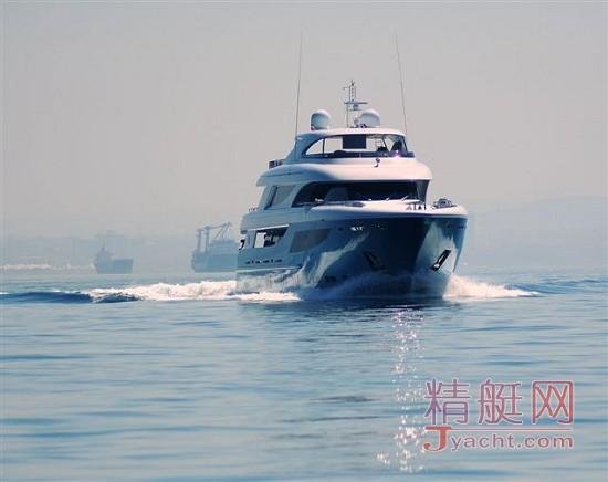 土耳其船厂Mengi-Yay41米Azra交付
