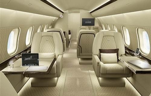 博速(Brabus)梦幻般庞巴迪改装私人飞机