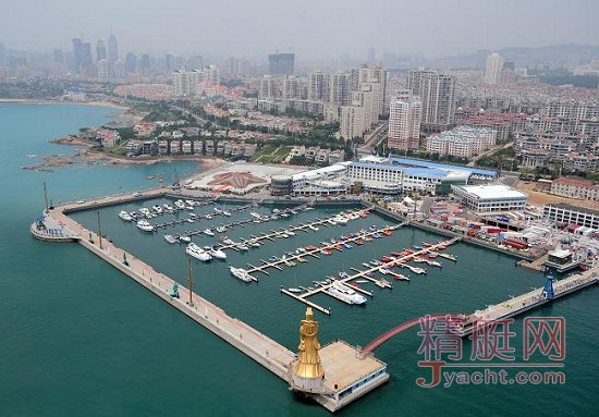 中国青岛银海国际游艇俱乐部