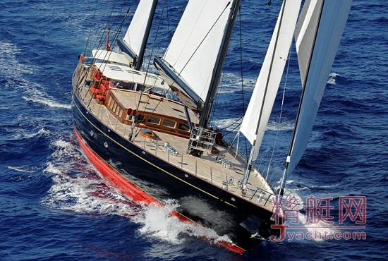 荷兰vitters55米全铝单桅帆船marie图赏