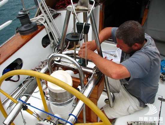 帆船设备―自动驾驶仪