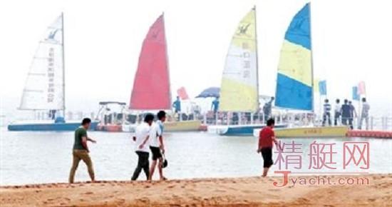 天津首家帆船俱乐部爱琴海帆船俱乐部揭牌