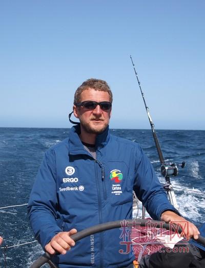 立陶宛的Ambersail号船长Simonas Steponavicius