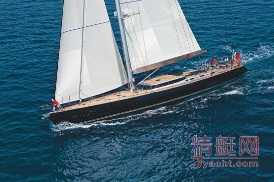 perini navi碳纤维单桅帆船xnoi