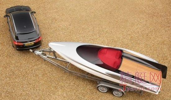 上最昂贵的汽车附件 捷豹XF游艇高清图片