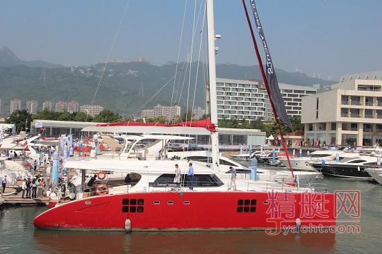 中国最大双体船sunreef