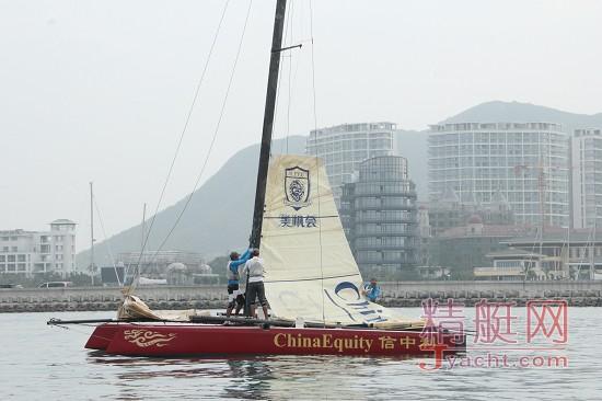 美洲杯帆船赛中国之队