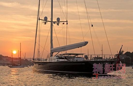"vitters单桅帆船lady b:海中""时尚女郎"""
