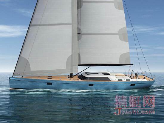 Bougainville―― 22米(72尺)铝制风帆游艇,荷兰著名船厂Claasen在建