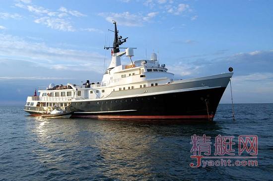 54米长的机动艇Itasca