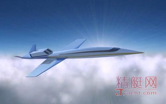 世界首架超音速商务飞机