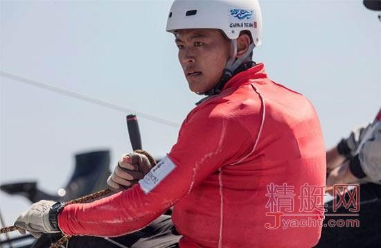 美洲杯帆船赛中国之队队员――刘学