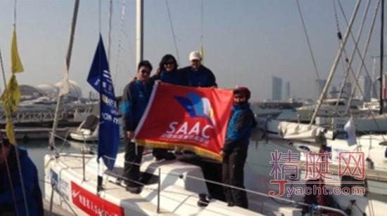 武汉/美帆(武汉)SAAC队是一支新兴的帆船队,第一次参加CCOR,...
