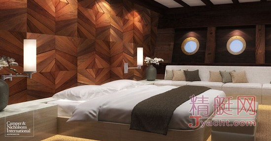 印度尼西亚,西班牙,设计工作室,经纪公司,效果图 全球最大木制帆船——65米Lamima已交付