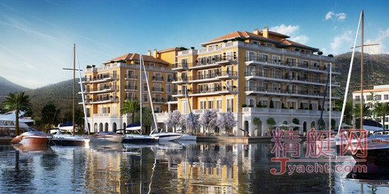 黑山港丽晶酒店于黑山港游艇码头正式亮相