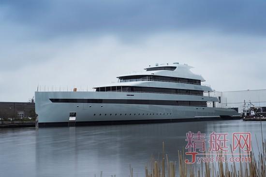 荷兰超级游艇制造商Feadship发布世界上第一艘混合动力超级游艇