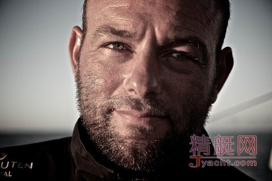 布鲁内尔队(Team Brunel)随船记者Stefan Coppers (斯蒂芬・科珀斯)