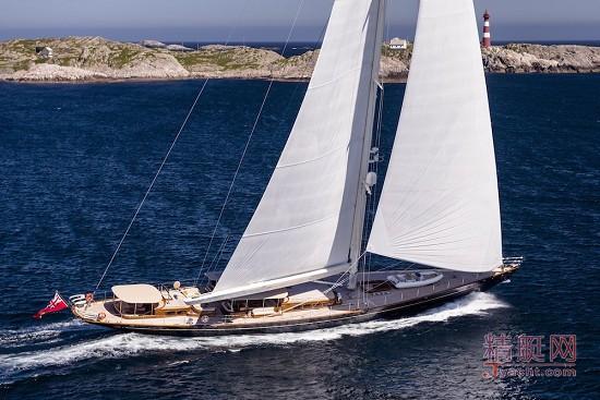 """古典""""美人""""——皇家豪斯曼48米单桅帆船wisp"""