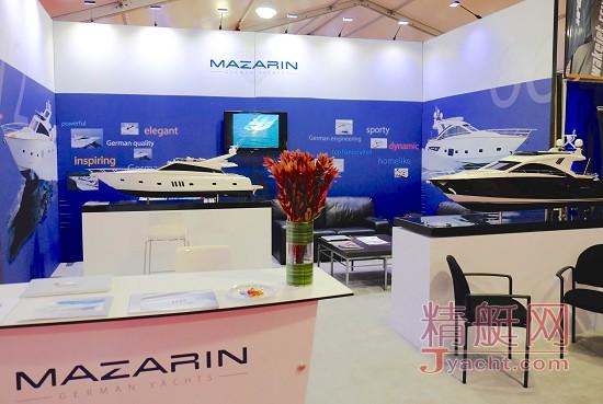 玛泽润(Mazarin)首秀2015迈阿密游艇经纪展