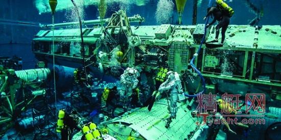 【探索】美国宇航局水下中性浮力实验室大揭密