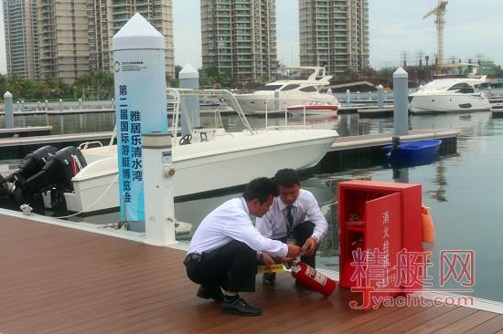 走近游艇码头保安:清水湾游艇码头