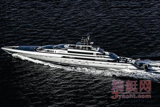 顶级富豪玩具 银快号私人豪华超级游艇