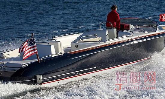 10.5米Open Tender开放式定制接应艇(附属艇)Hodgdon(霍奇登)游艇
