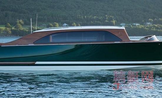 8.5m Limo Tender封闭式定制接应艇(附属艇)Hodgdon(霍奇登)游艇