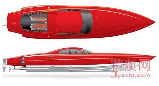 红色火箭Red Rocket定制接应艇(附属艇)Hodgdon(霍奇登)游艇