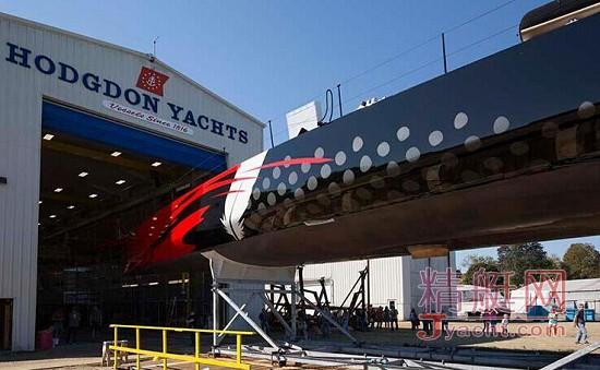 100尺单桅碳纤维帆船Comanche破记录不断 | Hodgdon(霍奇登)建造