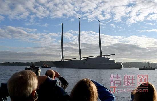 极速围观|俄罗斯土豪打造的全球最大帆船