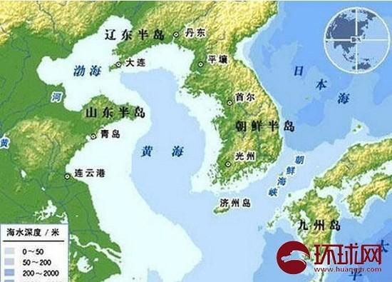 朝鲜南海岛地图