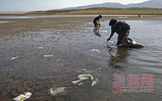 """青海湖景区变""""垃圾场""""离居民区约200米"""