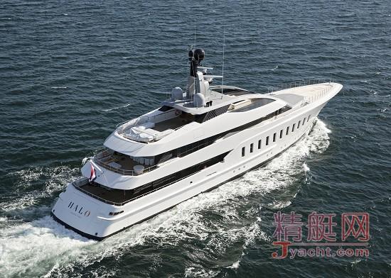 荷兰超级游艇制造商Feadship(斐帝星)近日成功交付了57米全定制超级游艇――Halo号