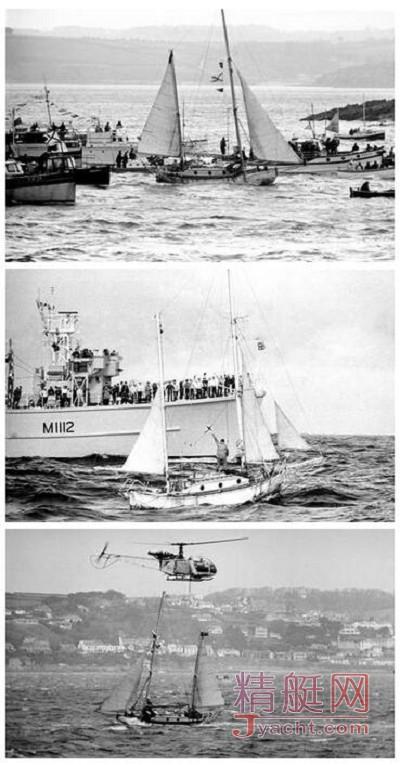 罗宾爵士――世界首位单人无间断帆船环球