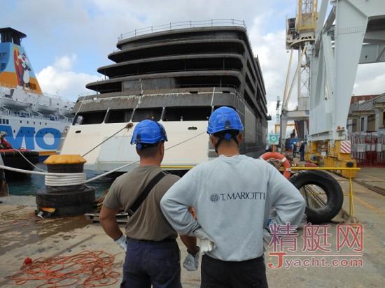 又有大动作――意大利T. Mariotti 船厂将建180米超级游艇