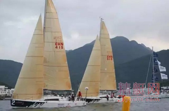 亚诺环中国海岸帆船赛 三亚首战海天盛筵
