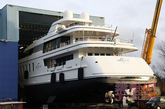 改名换姓,我依旧是荷兰 Feadship 斐帝星:超级游艇更名之路-曾用名Helix | 现用名Megan