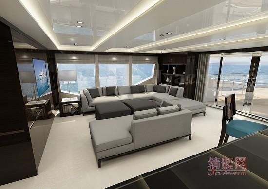 豪华游艇英国Sunseeker(圣汐)131 Yacht