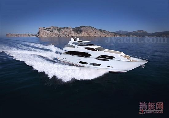 豪华游艇英国Sunseeker(圣汐)95 Yacht