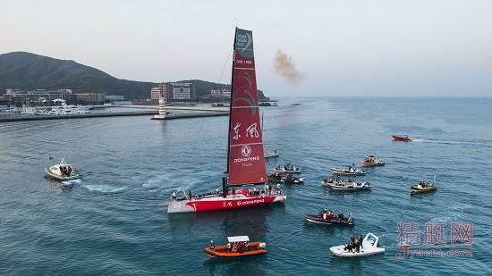 中国东风队成为2014-15沃尔沃环球帆船赛的季军