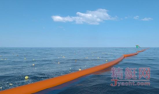 海洋塑料垃圾清理堤坝将于今夏在北海首测
