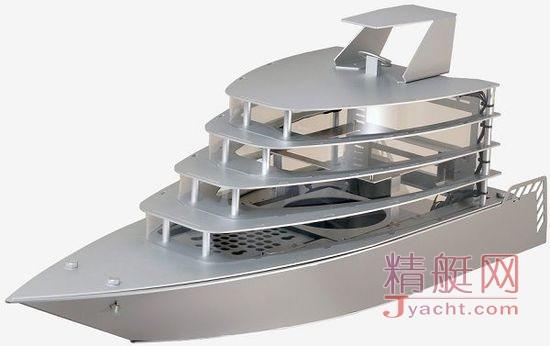 联力发布游艇造型创意机箱PC-Y6