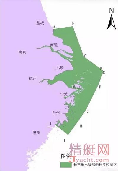 请注意!长三角4月起率先实施船舶排放控制区【ECA】